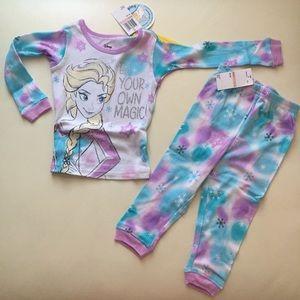 Disney Frozen Elsa Anna Cute Pajama set